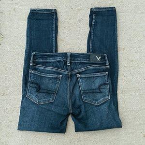 American Eagle Skinny Stretch Jegging Jeans 2